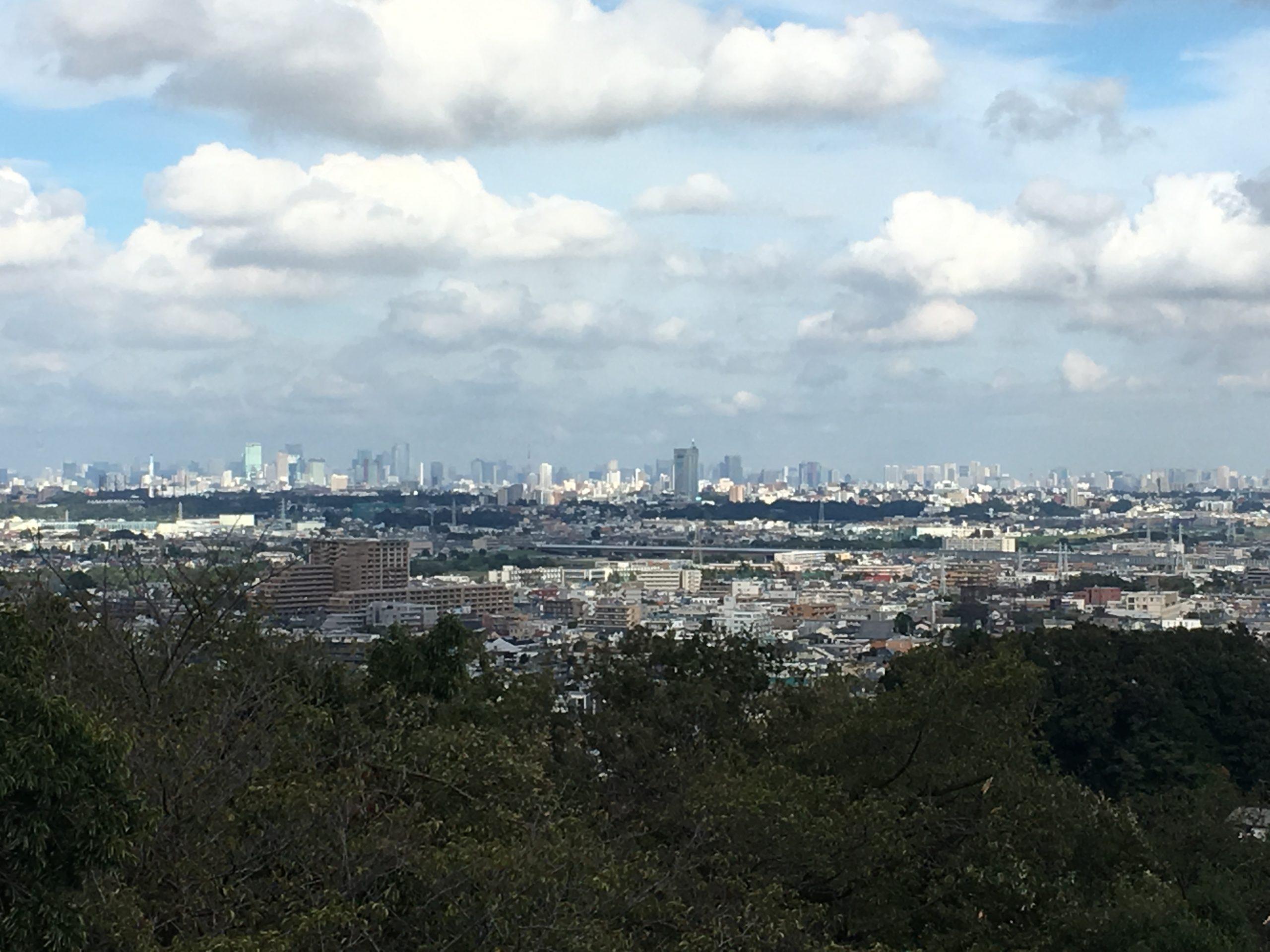 枡形山展望台からの眺め