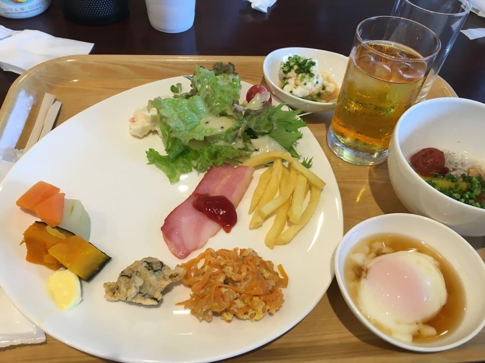 オクマプラベートビーチ&リゾートの朝食